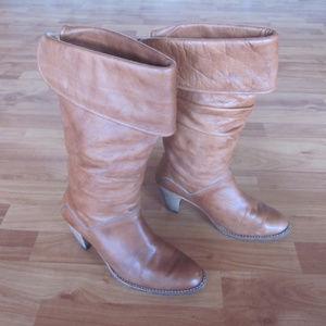 Frye Dorado Slouch Boots Size 7.5